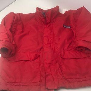 Patagonia fleece lined sz 3/4yr kids XXS coat